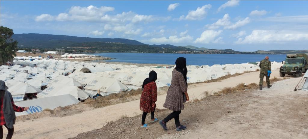 Lager Kara Tepe, Lesbos